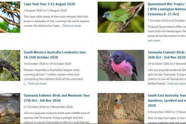 Australians exploring Australia - Inala Nature Tours