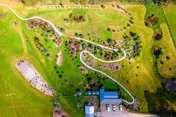 Inala Jurassic Garden - aerial image by Pademelon Creative
