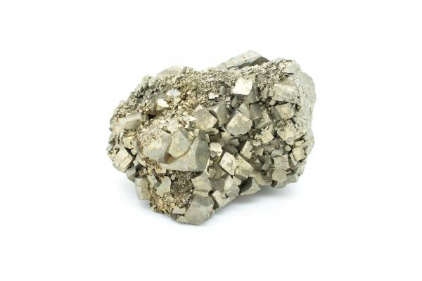 Pyrite Crystals - Gemstones - Inala Nature Museum