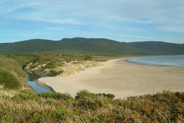 Cloudy Bay, Bruny Island
