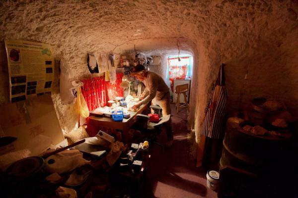 Miner home Coober Pedy  - Alastair Stevenson - Inala Nature Tours
