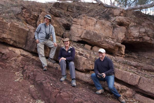 Tonia, Peter and Ben - Alastair Stevenson - Inala Nature Tours