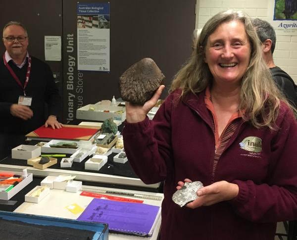 Meteorite at S A Museum  - Tonia Cochran - Inala Nature Tours